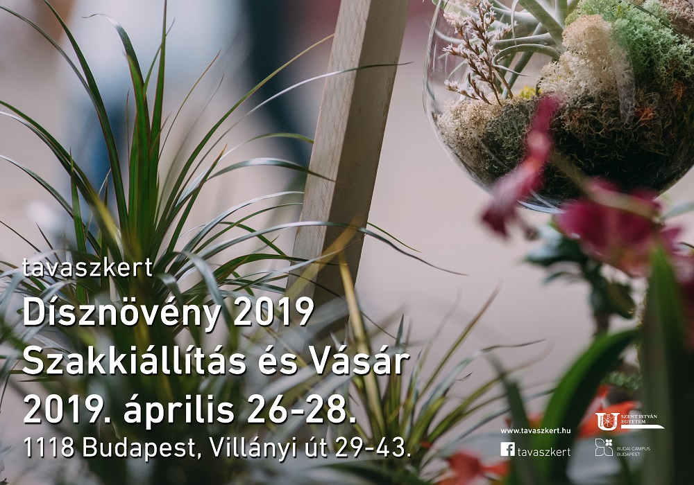 6e3246de8a Tixa // tavaszkert Dísznövény 2019 Szakkiállítás és Vásár